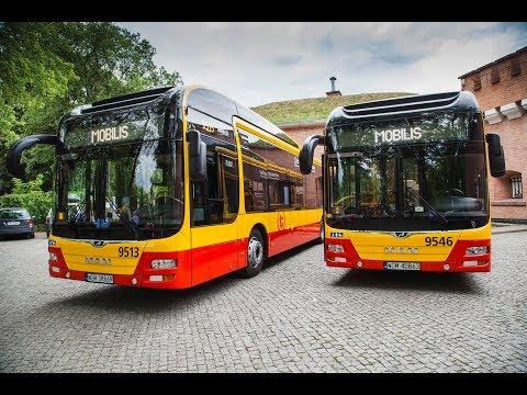 Mobilis z największą flotą autobusów  hybrydowych w Polsce.