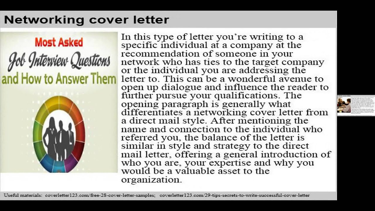 Top 7 project assistant cover letter samples - YouTube