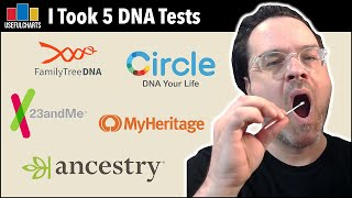 I Took 5 DNA Tests and Compared Them   Which One Is Best?