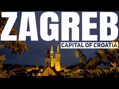 1 NIGHT in Zagreb, Croatia The City That Doesn't Sleep