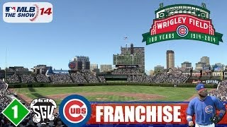 MLB 14: The Show (PS4) Chicago Cubs Franchise - EP1