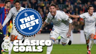 Real Madrid's BEST CLÁSICO GOALS against Barcelona!
