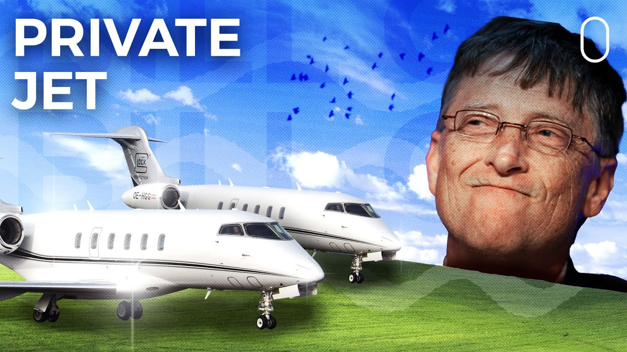 Inside Bill Gates' Private Jet Collection