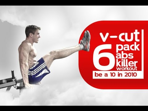 V-Cut RIPPED 6-Pack Abs Killer Workout \