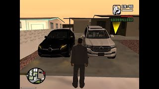 GTA SA Mercedes-Benz GLE 450 4matic VS Toyota Land Cruiser 200