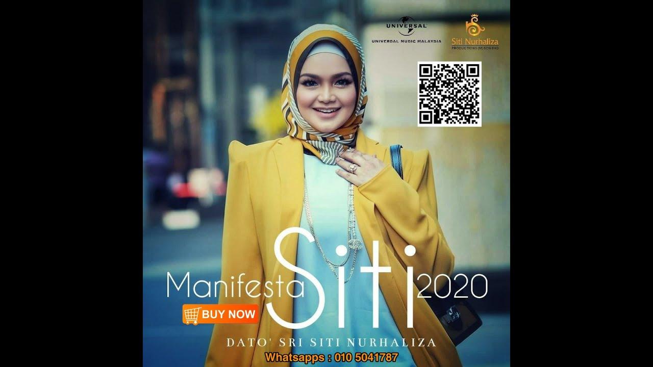 Album ke 18 Siti Nurhaliza #ManifestaSITI2020 harus Dimiliki sebagai koleksi semua peminat setia
