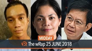 Lacson on 'stupid God' remark, Tisoy Argoncillo death, Rappler award | Midday wRap