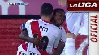 Gol de Piti (0-1) en el RCD Mallorca - Rayo Vallecano - HD