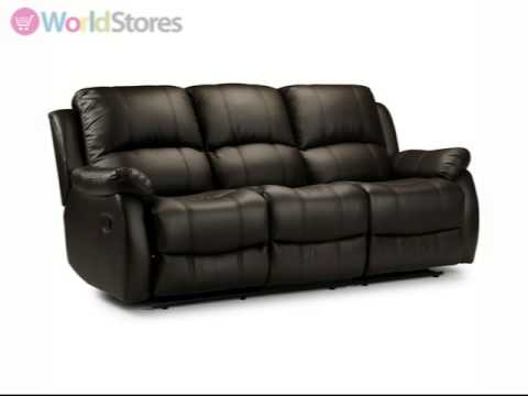Anton Reclining 3 Seater Sofa