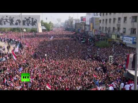 'Reform Iraq!': Protesters gather against political corruption in Baghdad