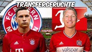 Draxler zu den Bayern ? Schweinsteiger zurück nach Europa ? | Transfers und Transfergerüchte 2017/18
