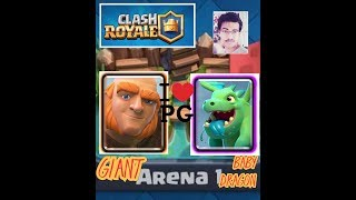 Clash royale| Strategy to win every time in Arena 1| Clash royale| Tamil #GamingwithArun