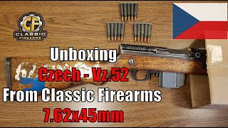 I've been looking to add a czechoslovakian m52 rifle (vz.52) my collection for several years. as you may know inter ordinance has recently imported batc...