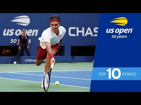 Top 10 Points from the 2018 US Open