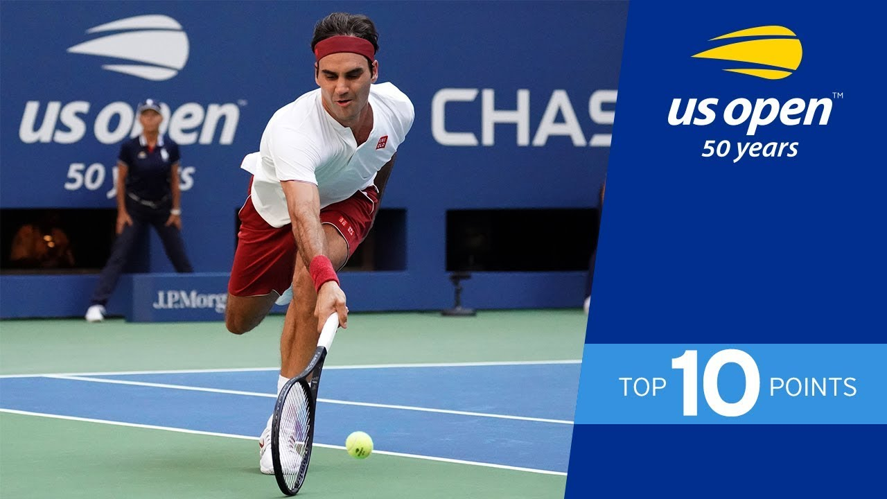 Top 10 Points From The 2018 Us Open Youtube