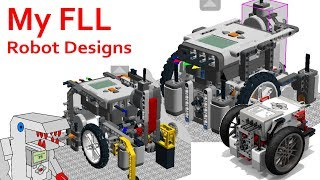 From Garbage to Great - My FLL Robot Designs Over the Years