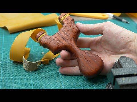 видео: Деревянная рогатка своими руками