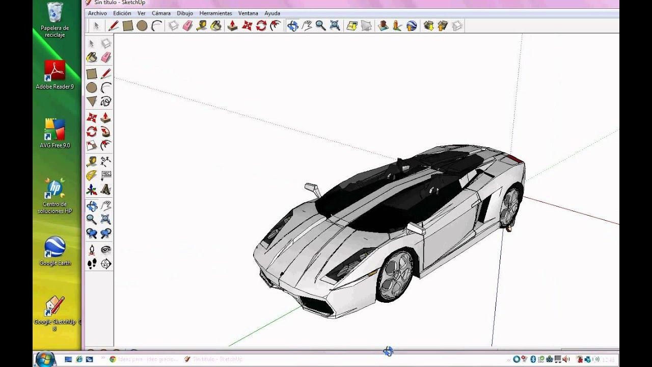 Descargar modelos en google sketchup 8 youtube for Mobilia para sketchup 8