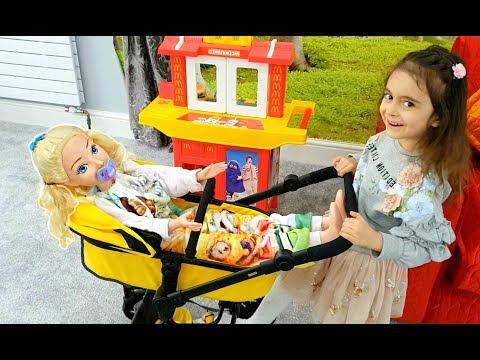Having Fun with My Baby Princess Doll