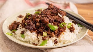 Korean Ground Beef And Rice Recipe | Ep. 1330