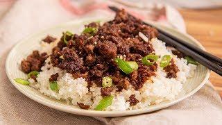 Korean Ground Beef And Rice Recipe | Ep. 1330
