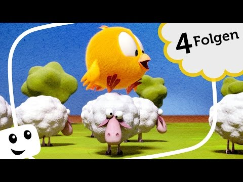 Wo ist Küken Chicky? Folge 13-16! lustige Cartoons deutsch - where is chicky
