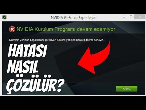NVIDIA Kuruluma Devam Edemiyor Hatası çözümü. Bu Grafik Sürücüsü Uyumlu Grafik Donanımını Bulamadı