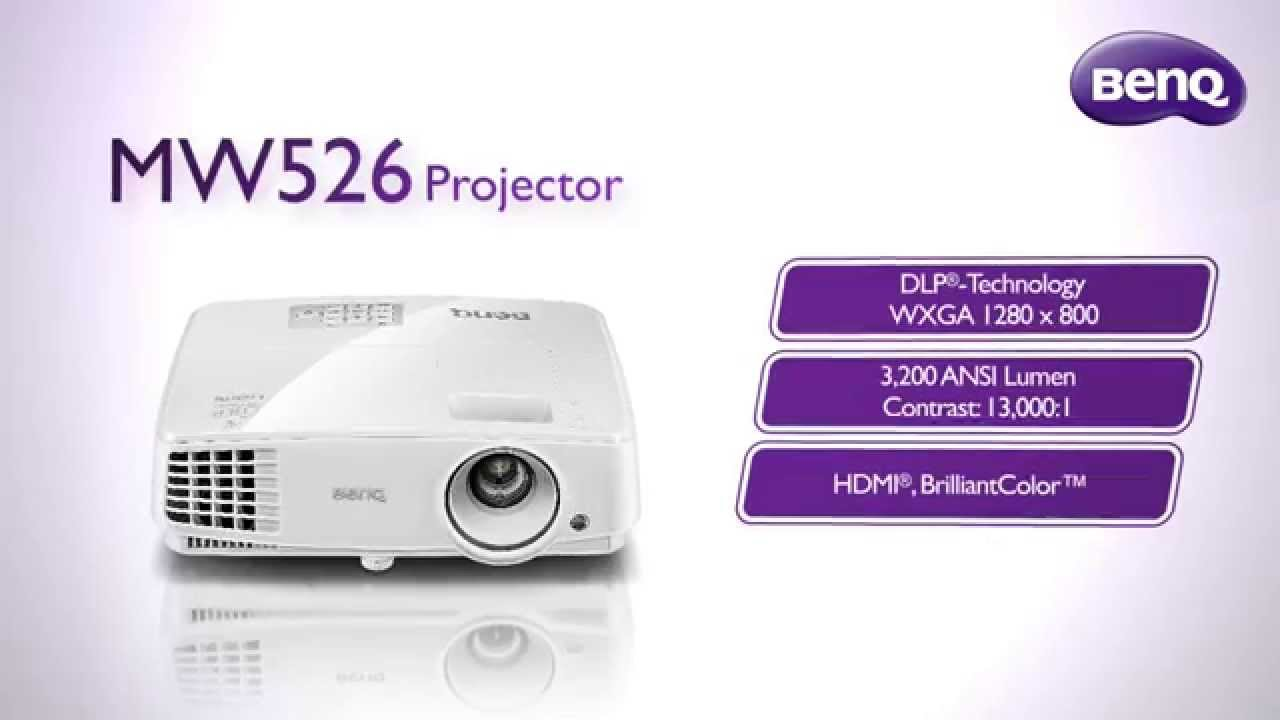 f1b3aeead Introducing the BenQ MW526 Projector - YouTube