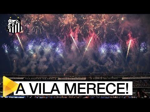 Os bastidores da festa de 100 anos da Vila Belmiro