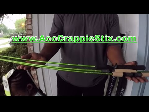 The Rod Every Crappie Fisherman Must Have! *ACC Crappie Stix*
