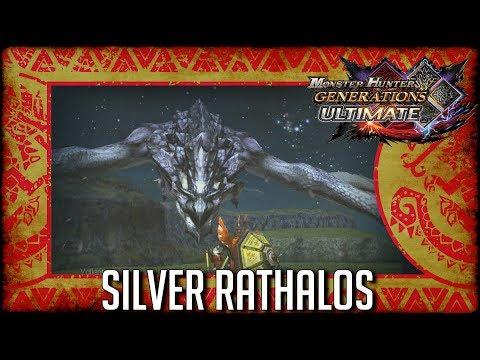 Monster Hunter Generations Ultimate: Silver Rathalos thumbnail