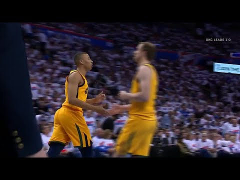 1st Quarter, One Box Video: Oklahoma City Thunder vs. Utah Jazz