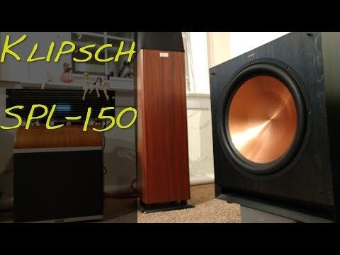 Klipsch SPL-150sw HT Subwoofer _(Z Reviews)_ 💥💥💥💥💥/5