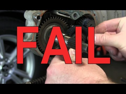 Scooter Fail : Got Gear Oil? Destroyed Parts - YouTube