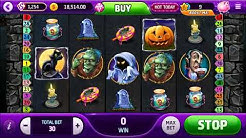 HALLOWEEN THRILLS SLOT - big win & free spins - Slotomania Video Slots Online Game