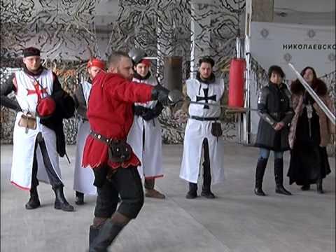 Поединок на мечах