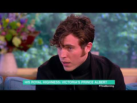 Tom Hughes and Writer Daisy Goodwin Talk Victoria and Albert  This Morning