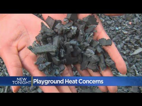 Rubber Mulch Worries West Sacramento Parents
