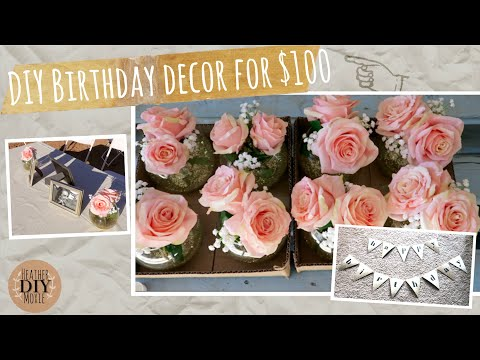 DIY Party Decorations for $100