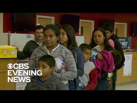 Migrant families left waiting as the border crisis escalates