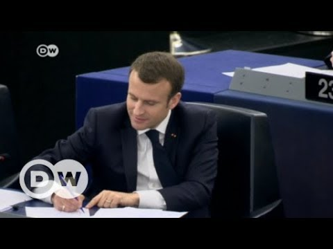 Macron wants EU to stand firm in the defence of democracy | DW News