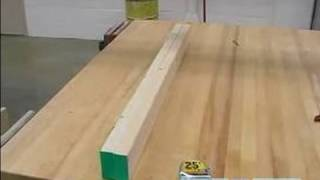 How To Build A Sawhorse : How To Cut & Attach The Sides Of A Sawhorse