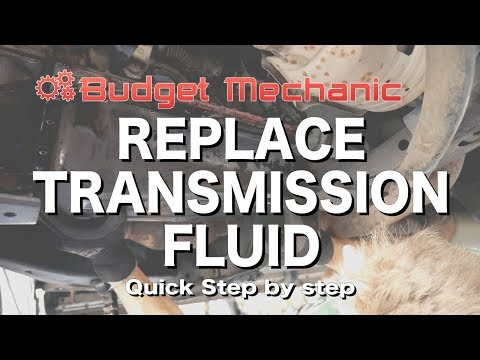 How to Replace Transmission fluid & filter - 2004 Toyota 4Runner Land Cruiser FJ Tacoma Fortuner