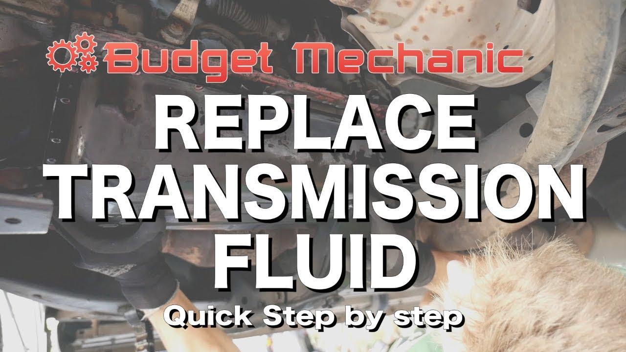 Toyota Com Tacoma >> Replace Toyota Transmission fluid & filter - 4Runner Land Cruiser FJ Tacoma Fortuner - YouTube