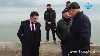 Реализации проекта «Формирование комфортной городской среды» в Каспийске подходит к завершению