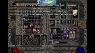 Diablo 2. LOD 1.14d MF Runs EP.2 Eldritch and Shenk Farm.