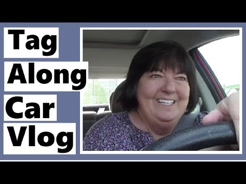 Tag Along Car Vlog - I Had to Go to the Post Office