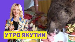Утро Якутии: Медведь-видеоблогер из Саратова. Выпуск от 23.08.21