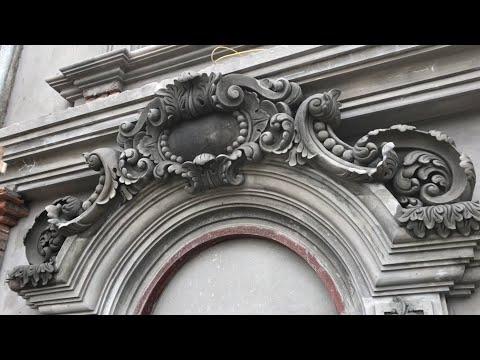 Cách đắp phù điêu hoa văn vòm cửa nhà lâu đài Pháp