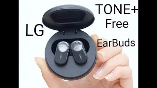 LG Tone+ Free wireless earbuds…